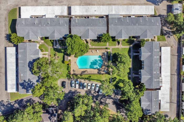 Community Drone Shot