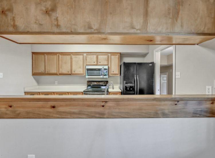 Window into Kitchen