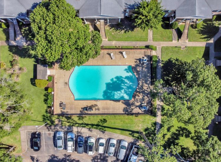Swimming Pool - Drone Shot